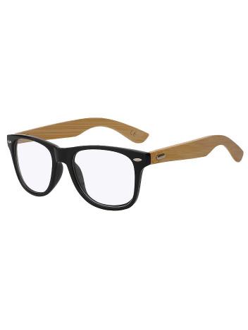 Brýle s čirými skly Graham černé