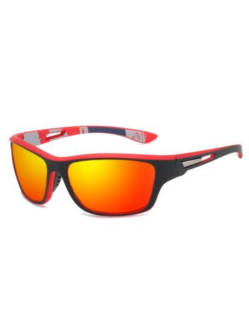 Polarizační sluneční brýle Gustav červené