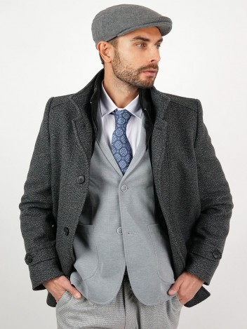 Pánský zimní kabát Eloy