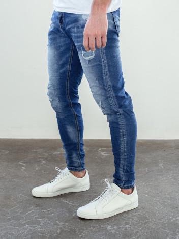Pánské riflové kalhoty Kevin tmavě modré