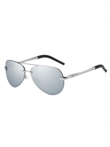 VeyRey Polarizační brýle Laudin stříbrná skla