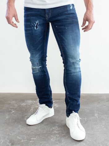Pánské riflové kalhoty Meg tmavě modré