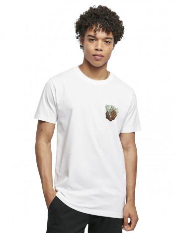 Pánské tričko s potiskem Make Money bílé