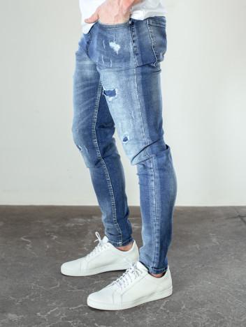 Pánské riflové kalhoty Ondy tmavě modré