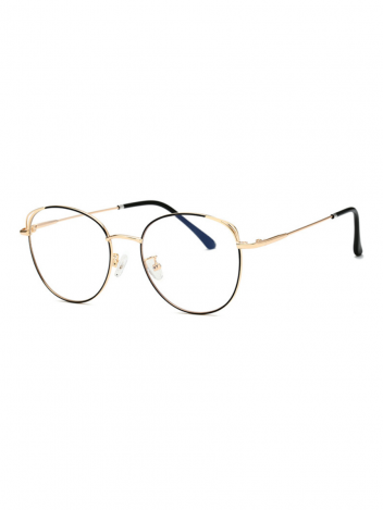 Brýle blokující modré světlo Petronell černo-zlaté