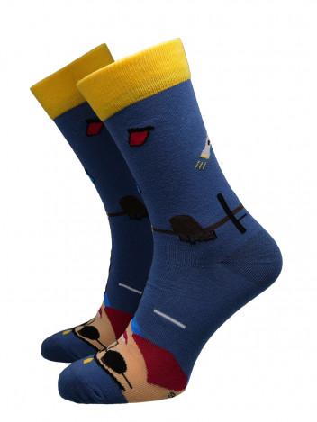 Pánské ponožky Cope modré