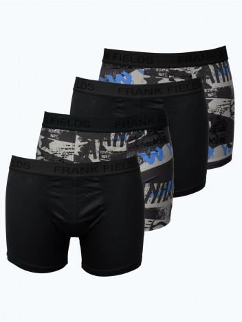 Sada Boxerek PopArt černé, šedé