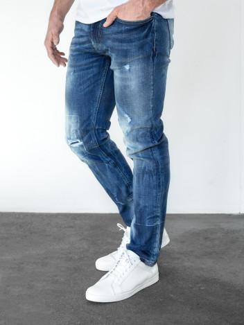 Pánské riflové kalhoty Sasha tmavě modré