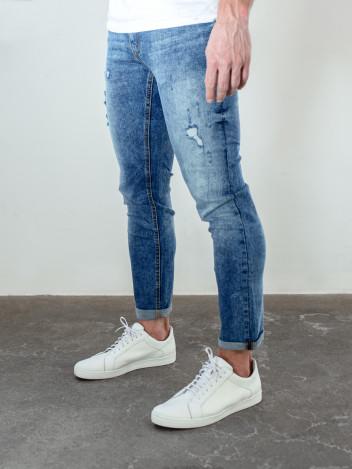 Pánské riflové kalhoty Scott tmavě modré