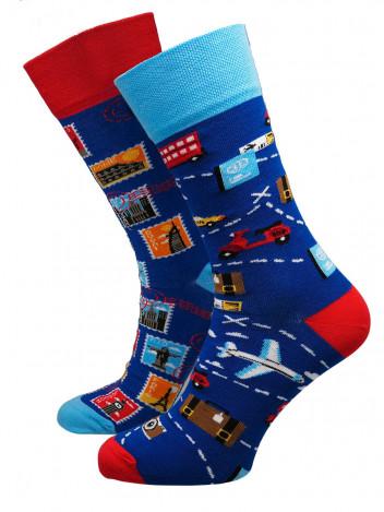 Pánské ponožky Traveler tmavě modré