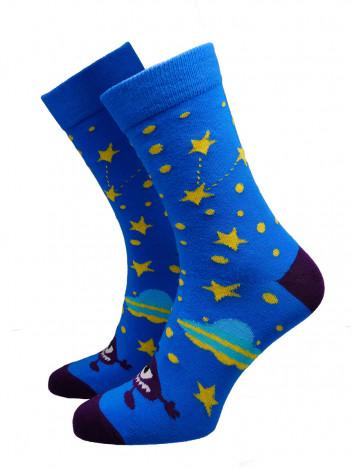 Pánské ponožky Ufo tmavě modré