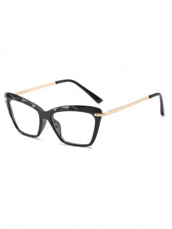 Brýle s čirými skly Verity černé