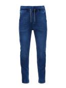 Ombre Clothing Pánské jogger kalhoty Reynard tmavě modré