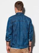 Ombre Clothing Pánská riflová bunda Goodhue modrá