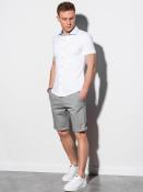 Ombre Clothing Pánská košile Coyne bílá