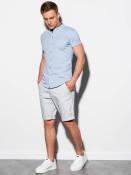 Ombre Clothing Pánská košile Conway modrá