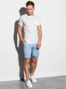 Ombre Clothing Pánské basic tričko Henshaw bílé
