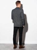 Ombre Clothing Pánské sako Mata černé