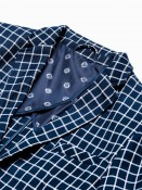 Ombre Clothing Pánské sako Mata navy