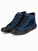 Ombre Clothing Pánské kotníkové boty Harrison navy