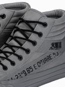 Ombre Clothing Pánské kotníkové boty Patrick šedá