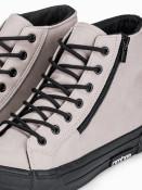 Ombre Clothing Pánské kotníkové boty Hieronim béžová