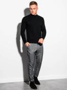 Ombre Clothing Pánský svetr Luca černá