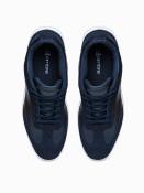 Ombre Clothing Pánské kotníkové tenisky Kennet tmavě modrá
