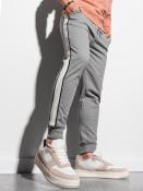 Ombre Clothing Pánské tepláky Mart šedá