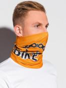 Ombre Clothing Pánský nákrčník Hans oranžová