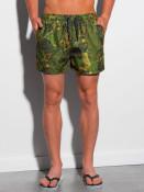 Ombre Clothing Pánské koupací šortky Gudrun zelená