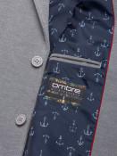Ombre Clothing Pánské ležérní sako Brantley šedé