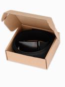 Ombre Clothing Pánský látkový opasek Dunn černý