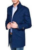 Pánský podzimní kabát k obleku Eliot tmavě modrý S
