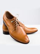 Pánské společenské boty Giorgio světle hnědé vel. 40