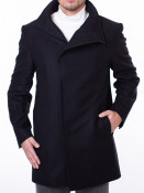 Mens Coat Merlin Black S