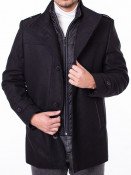 Mens Coat Octave Black S