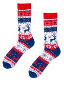 Mens socks Rudolph Red size 35-38