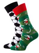 Mens Socks Football Green size 39-42