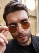 VeyRey Sluneční brýle Braam hnědé