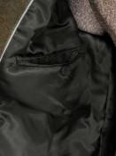 Zapana Pánský kabát Jacobe tmavě zelený