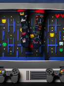 Pánské ponožky Game over tmavě modré
