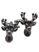 Men's Metal Cufflinks Deer