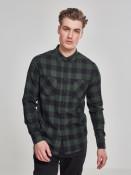 Urban Classics Pánská flanelová košile Forest