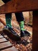 Pánské ponožky Map zelené
