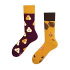 Veselé vzorované ponožky Pear multicolor vel. 35-38