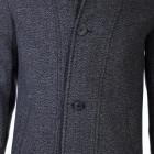 Mens Coat Eloy Dark Grey S