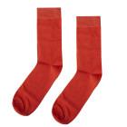 Mens Socks Flame Orange size 39-41