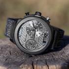 Pánské náramkové hodinky Bander černé