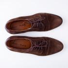 Mens Formal Shoes Slard Brown size 41